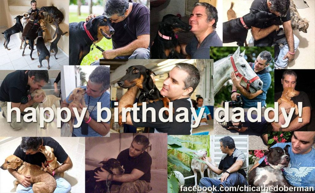 Héctor, who is known as the Cancún dog rescuer who saved Chica, is a dedicated dad to many