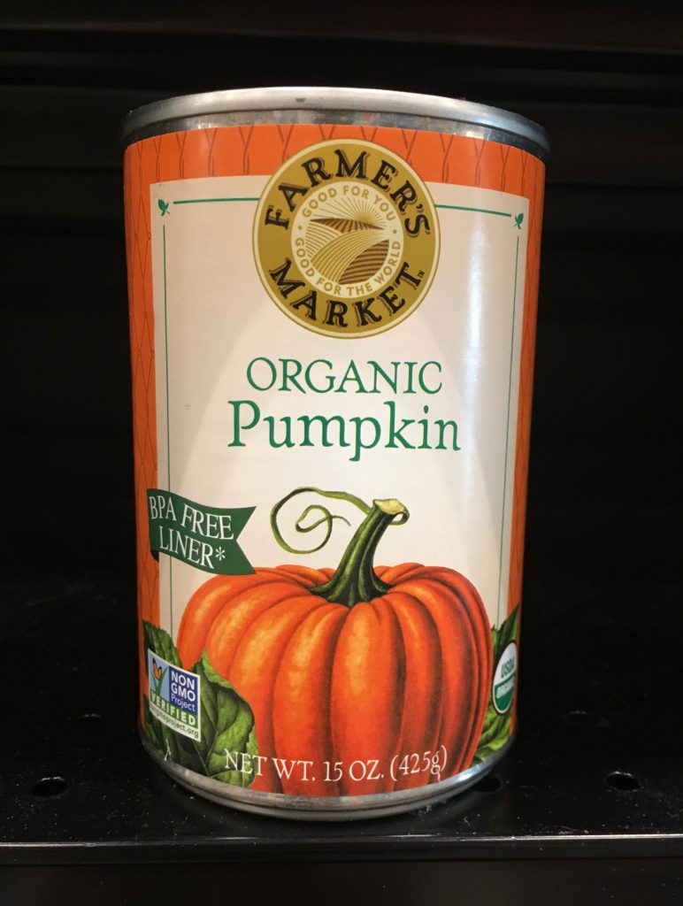 Pumpkin is a natural stool-consistency regulator, ideal for our pet dogs and cats